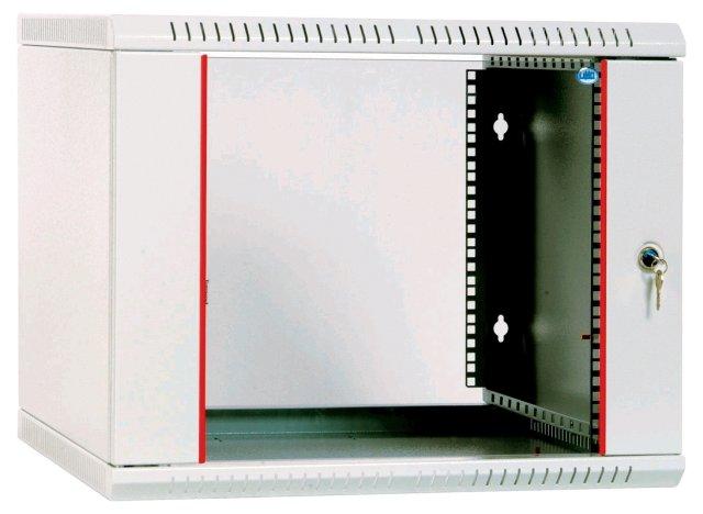 Шкаф настенный разборный 15U ЦМО ШРН-Э-15.650 600х650mm дверь стекло серый